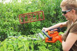 CH 456 ножницы для живой изгороди для кустов аккумуляторные