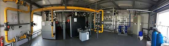 Vitocrossal 200 CM2 и Vitoplex 100 PV1 в каскаде