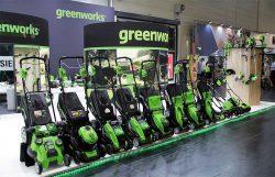 Greenworks Гринворкс Тулс Spoga Gafa 2018 выставка
