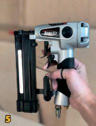 Нейлер пистолет монтажный шпилькозабивной шпилечник двойной курок