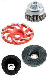 шлифовальные круги чашки по металлу и бетону алмазные для шлифовки щётки полировальные