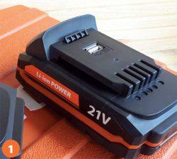 21 В аккумуляторный шуруповерт