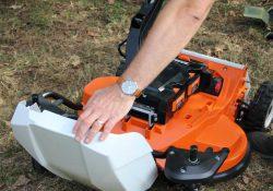 36 вольт аккумулятор Stihl Pro газонокосилка аккумуляторная