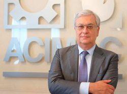 Выставка MosBuild Мосбилд 2019 ACIMAC Паоло Сасси Paolo Sassi президент Ассоциация итальянских производителей оборудования для изготовления керамики