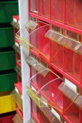 открывающиеся ящики для мелких деталей мастерских