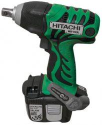 Hitachi WR 14 DL тест аккумуляторный ударный гайковерт