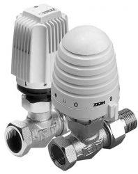 Термостатические клапаны и головки Herz