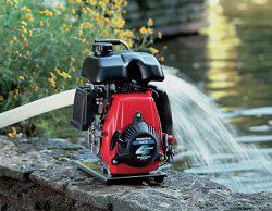 мотопомпы для чистой воды обзор новинок WX 10 15