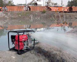 для чистой и слабозагрязнённой воды Honda WB 30