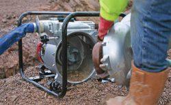 WT 40 для грязной воды бензиновая помпа мотопомпа