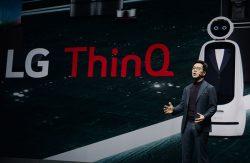 LG искусственный интеллект робот ThinQ Electronics выставка CES 2019