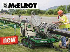 McELROY Ольмакс для сварки труб полиэтиленовых
