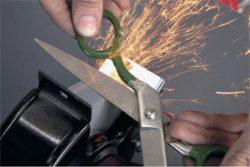 Заточка ножниц ножей инструмента режущего