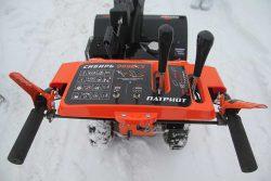 Патриот Сибирь 999ЕКХ Patriot снегоуборщик снегоотбрасыватель панель управления