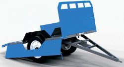 Прицеп Скаут Scout 700 HYD трактор мотоблок