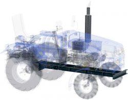 Скаут Т 15 T 18 25 мини трактор Scout рама