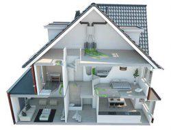 Прокладка воздуховодов в доме