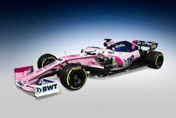 болид Formula 1 команды Racing Point