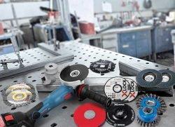 Bosch X-Lock УШМ новый метод установки оснастки расходников Pferd