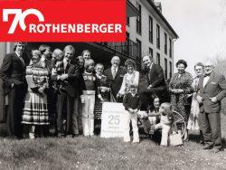 Германия Ротенбергер юбилей 70 лет