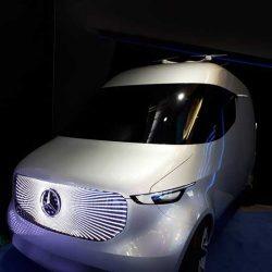 Беспилотный фургон Vision Van