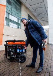 Patriot мини-электростанция генератор тесты