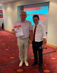 Юнисоо Unisaw Group конференция 2019 дилер сертификат Dealer Team №1