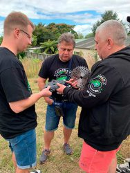 Бензокоса Caiman WX 21 3D диск леска Тест конференция Unisaw Group 2019 Новая Зеландия