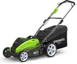 Greenworks G40LM45 газонокосилка аккумуляторная