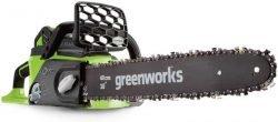 пила аккумуляторная Greenworks отзывы цена GD40CS40