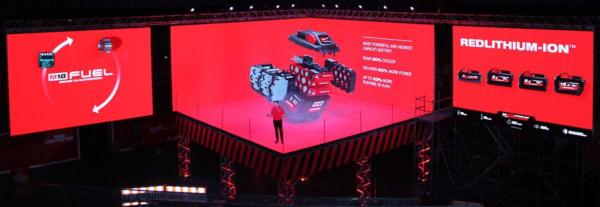 Конференция Milwaukee 2019 Дублин M18 High Output аккумулятор батарея 12 А ч новый