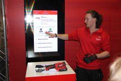 Конференция Milwaukee 2019 Дублин M18 HCC75 кабелерез аккумуляторный гидравлический One Key