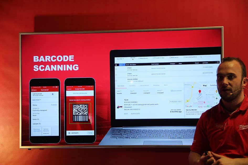 Конференция Milwaukee 2019 Дублин One Key сканер QR код цифровая платформа новости