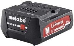 Метабо Metabo 12 V слайдерный аккумулятор 2 А ч