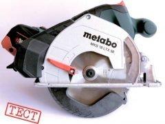 Metabo MKS 18 LTX 58 Метабо аккумуляторная дисковая пила металл