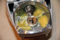 Bosch X Lock Бош новый механизм фиксации оснастки УШМ редуктор
