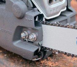 Husqvarna Хускварна 130 Mark II бензопила цепная тест натяжитель цепи