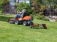 Husqvarna Хускварна R 316TX AWD райдер садовый газонокосилка сиденье
