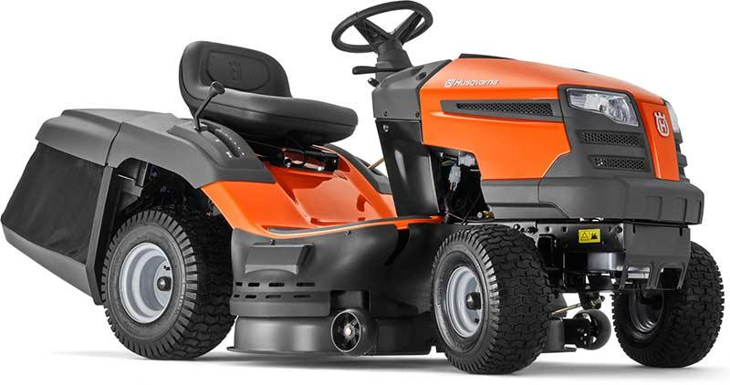 Husqvarna Хускварна TC 138M трактор садовый газонокосилка сиденье