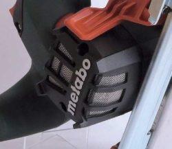 Metabo MKS 18 LTX 58 Метабо аккумуляторная дисковая пила металл защита двигателя стружки