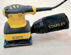 Stanley SS24 плоскошлифовальная машина тест