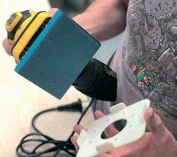 Тест Stanley SS24 плоскошлифовальная машина