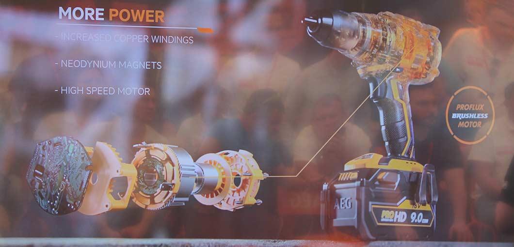 Конференция AEG 2019 Лондон бесщеточный двигатель мотор