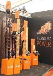 Конференция AEG 2019 Лондон аккумулятор Pro HD батарея