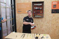 Конференция AEG 2019 Лондон BHLP18 фен технический аккумуляторный 18 В строительный пистолет горячего воздуха