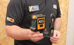 Конференция AEG 2019 Лондон лазерные уровни CLR2 20 CLG2 30 CLG3