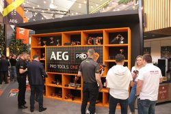 AEG Ryobi 2019 Лондон London конференция презентация премьера аккумулятор аккумуляторные инструменты садовая техника