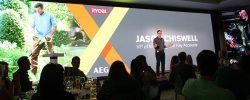 Конференция AEG Ryobi 2019 Лондон Джейсон Чизвелл Jason Chiswell вице президент TTI EMEA
