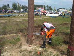 Husqvarna чемпионат Лучший вальщик леса Чувашии 2019 валка дерева