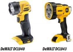 фонарь ручной аккумуляторый DeWALT DCL040 DCL043